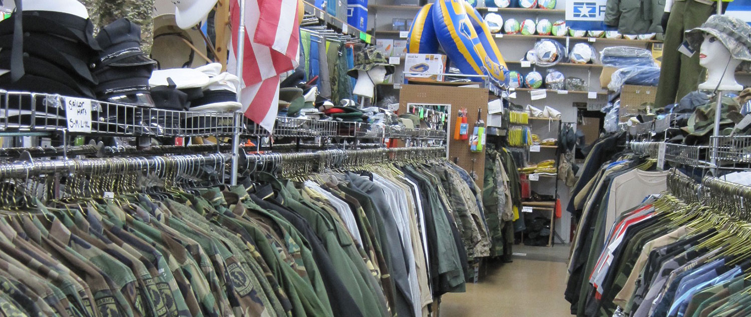 The Best Selection of Military Surplus in the Bay Area